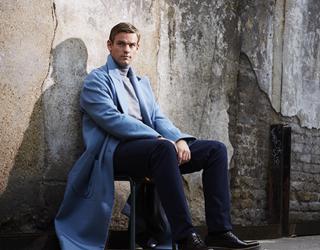 Tom Chilton in a long coat (Jamie Baker)