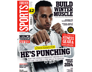 Lewis Hamilton cover Forever Sports December ()