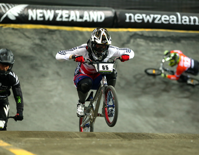 Liam Phillips at the 2013 UCI BMX World Championship (Getty Images)