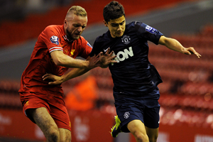 Andreas Pereira against Liverpool (Getty Images)