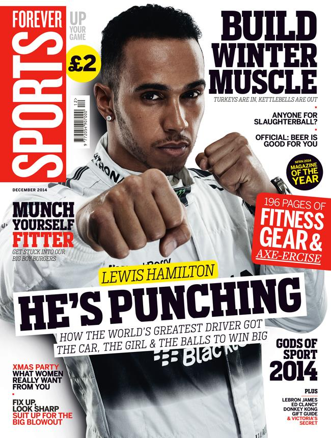 Lewis Hamilton cover Forever Sports December Issue ()